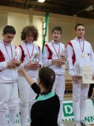 Grzegorz Czechowski, Antoni Nossarzewski, Bartosz Lewandowski, Bartłomiej Zbierada